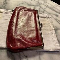 Hobo International Lauren Red Leather Clutch Bag and Organizer Wallet - Photo