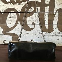 Hobo International Leather Bag Wallet Clutch Chain Strap Lk Photo