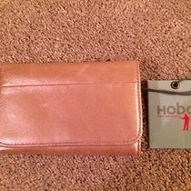 Hobo International Leather Credit Card Case/tri-Fold Wallet - Blush - Nwt Photo