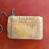 Hobo International Leather Gold/brown Key Ring Card Holder Photo