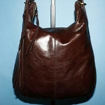 Hobo International Merrin Brown Leather Backpack Convertible Hobo Purse Bag 125 Photo