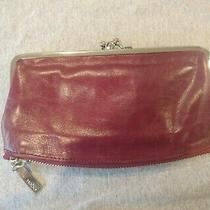 Hobo International Millie Wallet Clutch Red With Clasps Photo