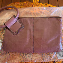 Hobo Internationaloriginal Sable Clutch Wristletburnished Rose New With Tags Photo