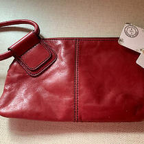 Hobo Internationaloriginal Sable Clutch Wristletlogan Berry New With Tags Photo