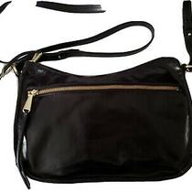 Hobo Karder Black Vintage Leather Crossbody Bag Nwt & Purse Bag Gorgeous Leather Photo