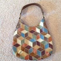 Hobo Patchwork Purse/bag Fun Colors Photo