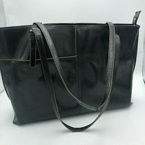 Hobo the Original 100% Leather Black Tote Bag Shoulder Bag Photo