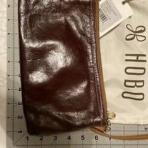 Hobo the Original Darcy Espresso Zip Clutch Bag Wristlet Purse Photo
