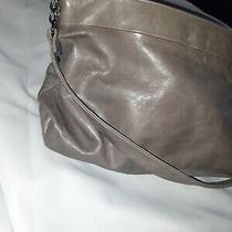 Hobo the Original Distressed Blue  Leather Hobo Bag Shoulder Bag Purse Photo