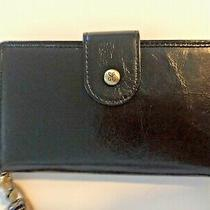 Hobo Wallet With Detachable Strap New With Tags  6in X 3.5in-  Black Photo