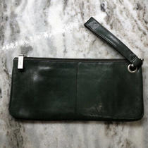 Hobo Wristlet Clutch Handbag Green Photo