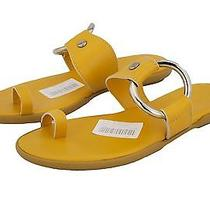 Hogan by Tod's Ibiza Ring Thong Sunflower Toe Ring Sandals Shoes Us 9 / 39 New Photo