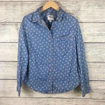 Holding Horses Anthropologie Chambrey Floral Button Top Size 2 Photo