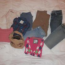 hollistera&famerican Eaglelimitedgap Girls/juniors Xsmall Clothing Lot 1703 Photo