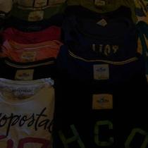 Hollisterabercrombieaeropostaleamerican Eagle Lot A Photo