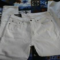 Hollister California Skinny Jeansmens Size 31 Waist Cream White Authentic Denim Photo