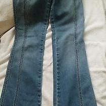 Hollister Co. Stretch Blue Jeans Size 1 Photo