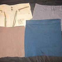 Hollister / Forever 21 / h&m / Hotkiss Skirts Lot Size 7 Photo