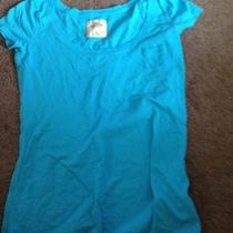Hollister Medium Aqua Blue Tshirt Photo