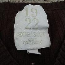 Hollister Surf Company Brown Sweater Size S Photo