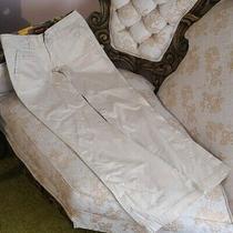 Hollister Surf Company Stretch Beige Ivory Cream Pants Size 3r Wide Leg Slacks Photo