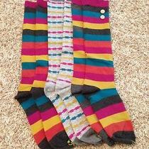 Honeydew Boot Socks/tall Socks Lot 3 Never Worn Photo