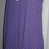 Honeydew Purple Polka Dot Intimatespaghetti Strap Nightie Photo