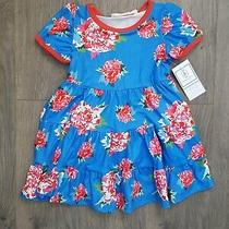 Honeydew Toddler Girls Floral Print Dress Size 2t.  Boutique Closing Sale Photo