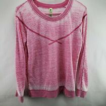 Honeydew Womens Top Small Lightweight Sweatshirt Pink  Photo