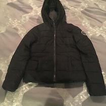 Hooded Youth Girls Abercrombie Kids Winter Jacket Size M Photo