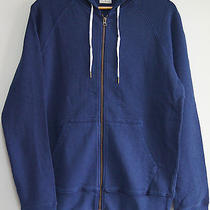 Hoodie Acne College Hood Blue Navy Size M New Neu Acne Sweater Cotton Photo