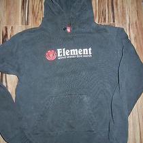 Hoodie Element Sweatshirt Jacket Black Youth Large Photo