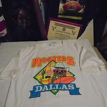Hooters Dallas Texas Vintage Shirt Adult Xl in Good Condition Photo