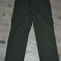 Horace Small Cargo Pants Park Ranger Dark Green Mens Size 32 Halloween Costume Photo