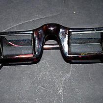 Horizontal Lazy Prizm Lying Bed Tv Book Reading Prism Vtg Eye Glasses Periscope Photo
