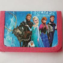 Hot Disney Cartoon Fantasy Frozen Purses Wallets Children Gifts Multi Color 6 Photo
