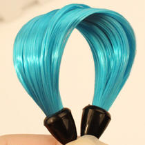 Hot Fashion Imitation Hair Self Wrapping Pongtail Ring Blue Womens Accessories Photo