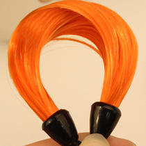Hot Fashion Imitation Hair Self Wrapping Pongtail Ring Orange Womens Accessories Photo