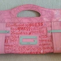 Hot Guess Arm Candy Super Cute Rocker Clutch Rare Photo