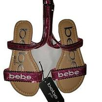 Hot Pink Bebe Girls Sandals Size 13 Photo