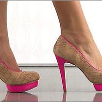 Hot Pink Dolce Vita Platforms Photo