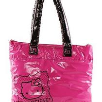 Hot Pink Hello Kitty ''shiny Marshmallow'' Tote Photo