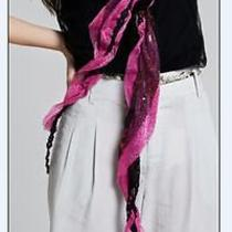 Hot-Selling Womens Vogue Style Shining Paillette Embellished Scarves 3 Colors Photo
