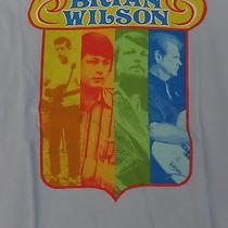 Hot Topic Brian Wilson Beach Boys Light Blue Tee T-Shirt Juniors Small Nwt New Photo