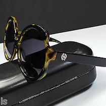 House of Harlow 1960 Jolene Black Turtle Frame Designer Sunglasses -