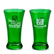 How I Met Your Mother Maclaren's Irish Pub Green Flared Shot Glass Photo