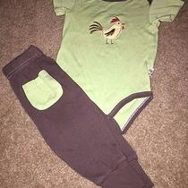 Hudson Baby 2pc Outfit Baby Boy 6-9m Photo