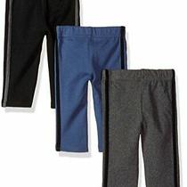 Hudson Baby Baby Cotton Pants 3 Pack Black Blue Size 9.0 Xnx3 Photo