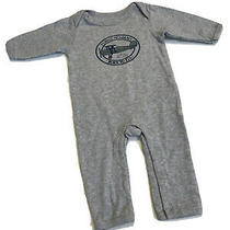 Hudson Baby Boy's Gray One-Piece Outfit Size 0-3 Months orig.29 Photo