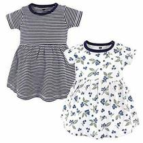 Hudson Baby Girl's Cotton Dresses Blueberries 4 Toddler Photo